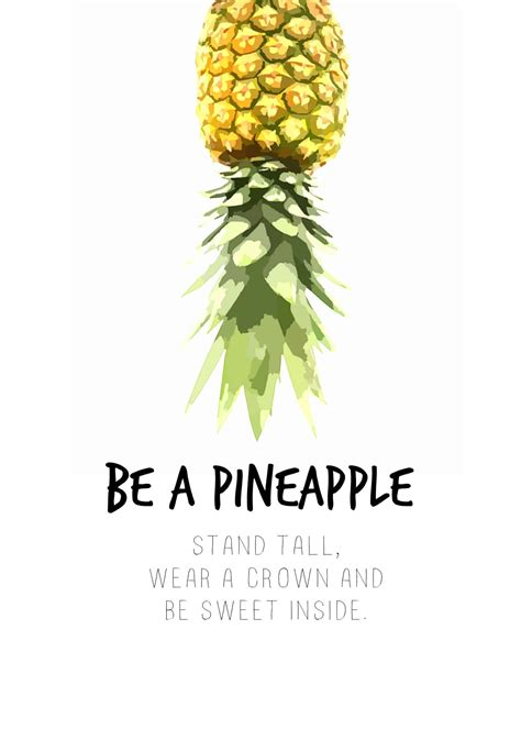 be a do it be a pineapple domestically speaking