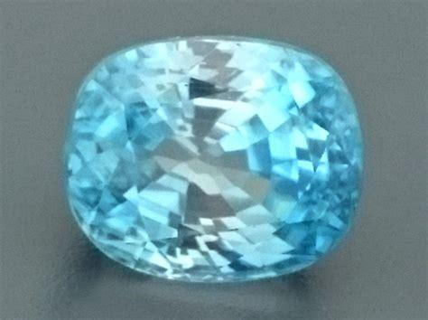 light blue gemstone 4 83ct light blue zircon gemstone