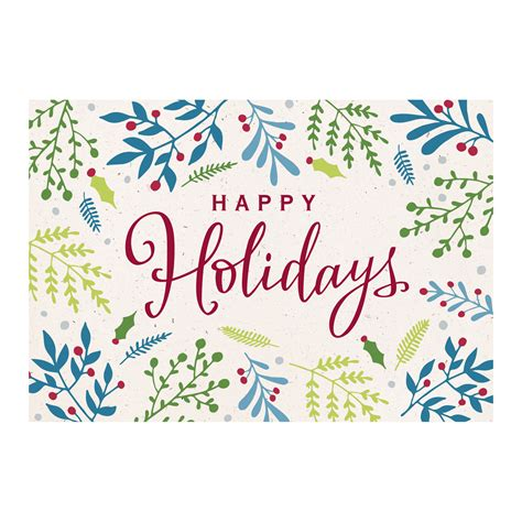 Check out our company holiday card selection for the very best in unique or custom, handmade pieces from our greeting cards shops. Shop Business & Corporate Holiday Cards from Hallmark Business