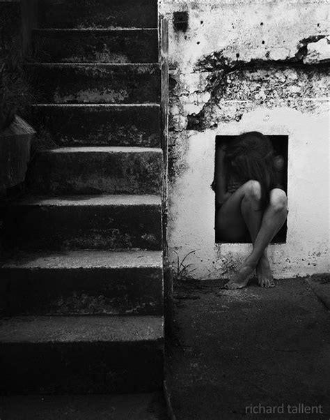 art sad photography sad girl black  white sadness