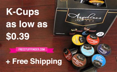 Those clever little packs have helped turn my kitchen into my own personal coffee shop! *HOT* $0.39 K-Cup Coffee (Angelino's) + Free Shipping