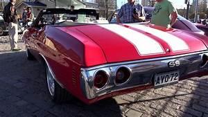 Chevrolet Chevelle Ss Convertible V8 Monster Engine Car