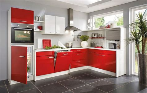 cocina roja ideas  decorar tu hogar en habitissimo