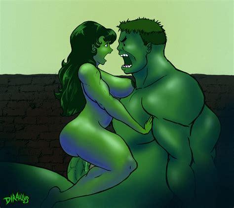 She Hulk Hulk By Diraulus Hentai Foundry