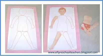 Parts Preschool Theme Efl Bond Paper Esl