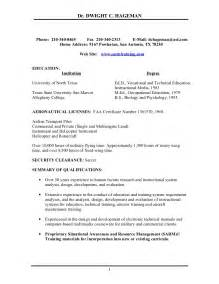 Helicopter Pilot Resume Example Resumes Design