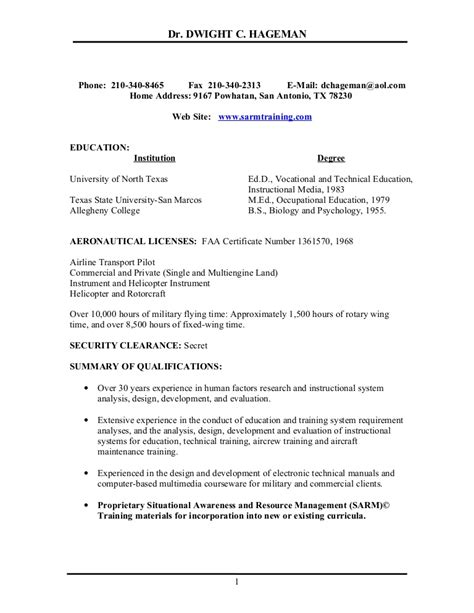 Helicopter Pilot Resume Example  Free Resume Sample