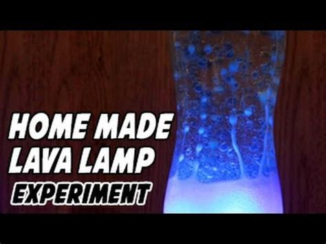 homemade lava l science fair project how to make a home made lava l for kids youtube