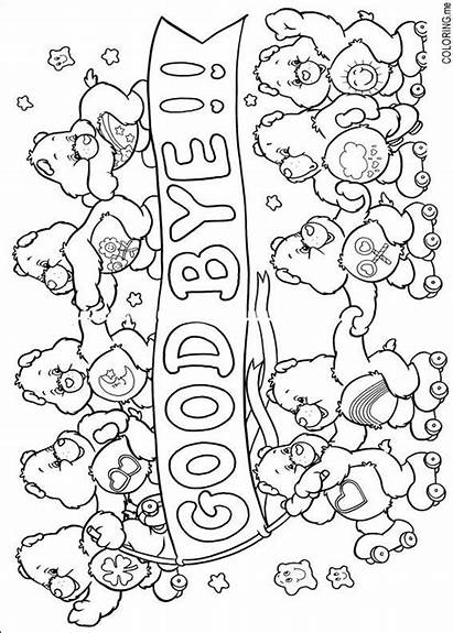 Coloring Pages Bye Care