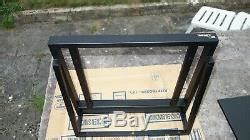 target audio ttw hifi turntable rack stand wall mount shelf support black metal