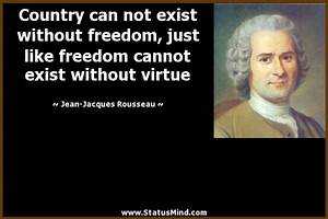 Jean-Jacques Ro... Country Freedom Quotes