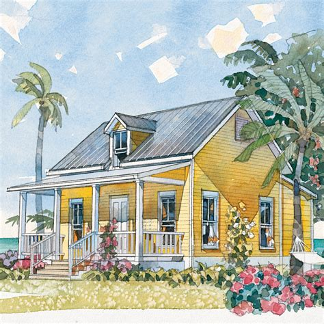 6 Beach House Plans That Are Less Than 1,200 Square Feet
