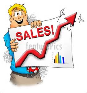 Clip Art Happy Sales Executive