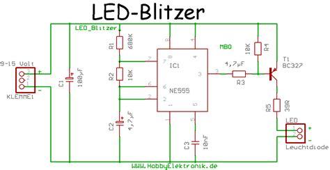 blinkende led streifen mikrocontrollernet