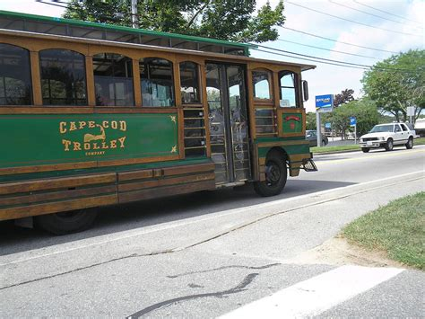 Cape Cod Trolley Photograph By Valerie Bruno