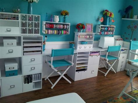 Craft Room  Recollection Storage Cubes And Panels From