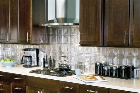 Metallaire Small Panels Backsplash Metallaire Collection