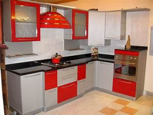 17 stunning modular kitchen ideas in various colors With modular kitchen designs red white