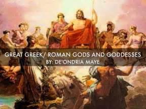 Great Greek/ Roman Gods And Goddesses by De'Ondria Maye