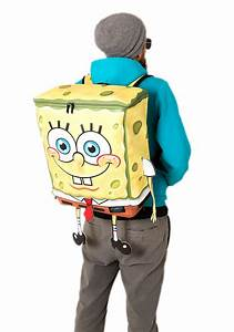 Adult's Spongebob Squarepants Character Backpack