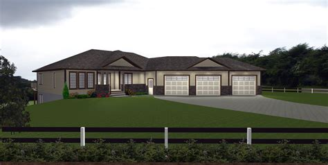carport plans attached  house house plans  attached  car garage ranch bungalow house