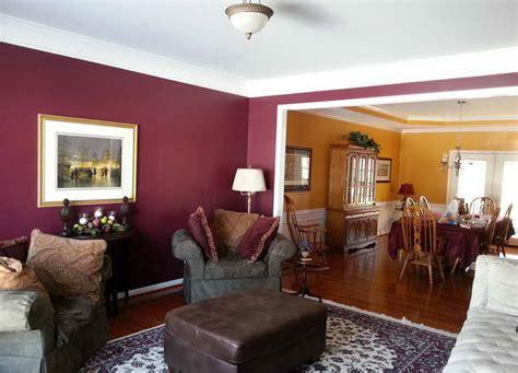 warm living room paint colors