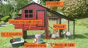 Plan Poulailler 5 Poules : installer un poulailler familial dans son jardin ~ Premium-room.com Idées de Décoration