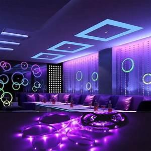 Eclairage Led En Ruban : le ruban led 5050 220v le grand pas pratique pour votre ~ Premium-room.com Idées de Décoration