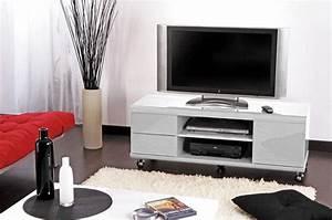Tv Soldes Carrefour : meuble tv carrefour meuble tv jack blanc ~ Teatrodelosmanantiales.com Idées de Décoration