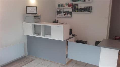 bureau comptoir accueil comptoir d 39 accueil et bureau pas cher pour un petit commerce
