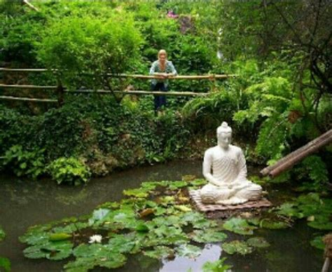 mediation garden meditation garden pond water garden s pinterest