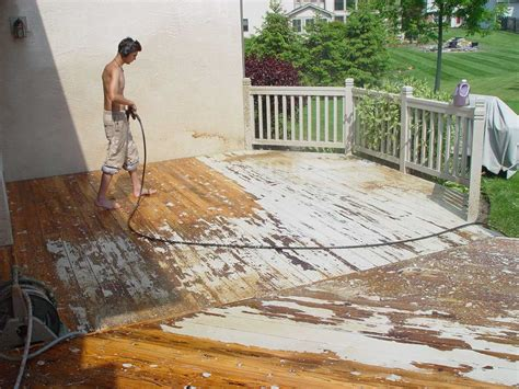 Restaining Deck Without Stripping by Paint Inc 614 837 8477