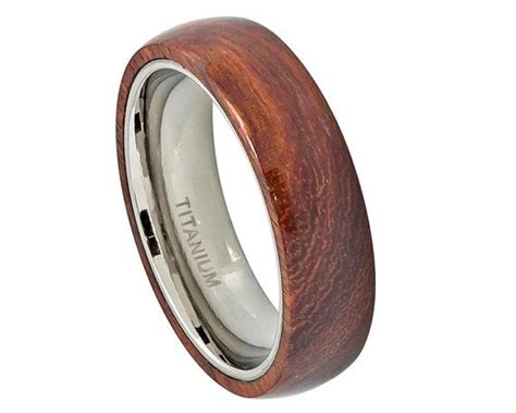 Titanium Ring,titanium Wedding Band,titanium Wood Rings