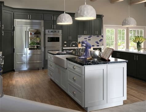 natural grey shaker ready  assemble kitchen cabinets kitchen cabinets