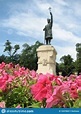 Flowers In Front Of A Stefan Cel Mare Statue In Moldova - MOLDOVA Stock Image - Image of 1457 ...