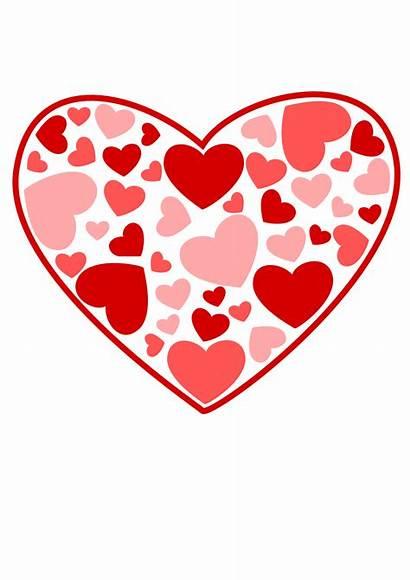 Clipart Heart Valentine Hearts Valentines Clip February