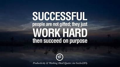 Quotes Hard Motivational Success Purpose Wallpapers Hardwork