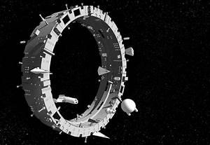 Yet Another Traveller Blog: Illustration - Space Station