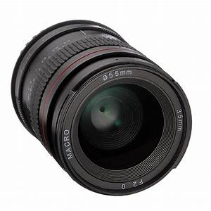 35mm F2 0 Wide Angle Manual Focus Mf Macro Prime Lens For