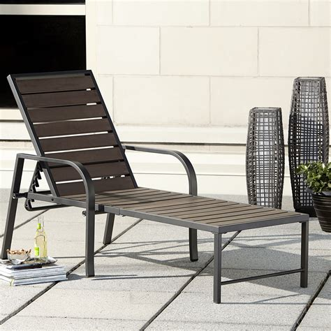 ty pennington quincy chaise outdoor living patio
