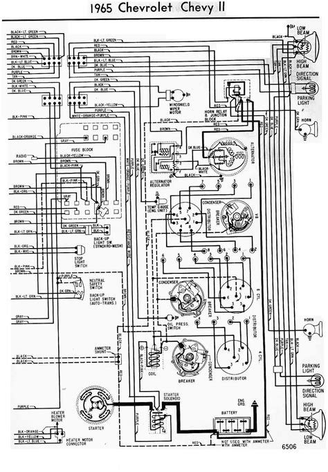 Chevrolet Chevy Wiring Diagram All About