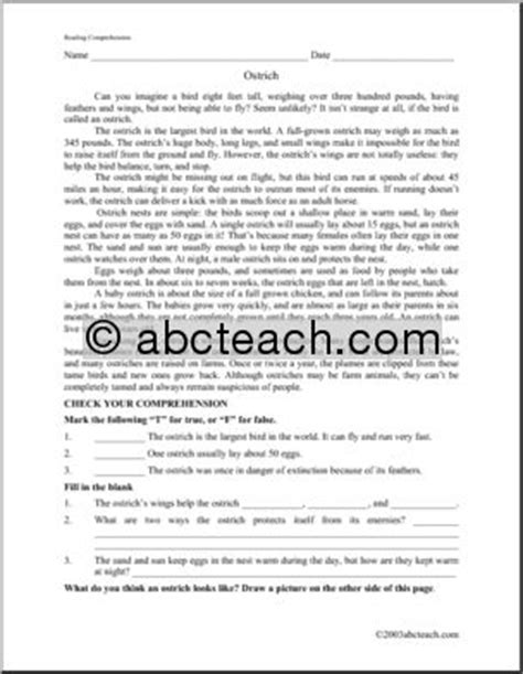 middle and high school reading comprehension teaching