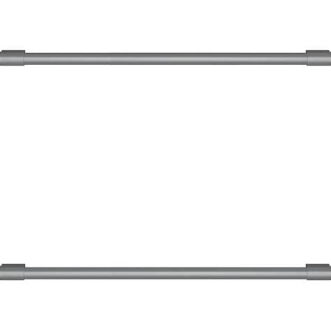 statement handle kit  select monogram undercounter refrigerators zxgdhppss  buy