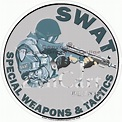 S W A T Special Weapons & Tactics Decal [827-2049 ...