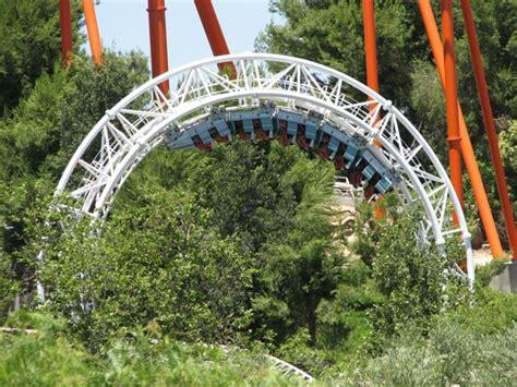 Revolution Roller Coaster Photos, Six Flags Magic Mountain
