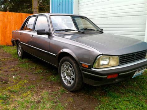 Peugeot 505 Turbo by 986 Peugeot 505 Turbo For Sale Peugeot 505 Turbo 1986