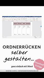 Ordnerr, U00fccken, Word, Kostenlose, Vorlage, Zum, Download, Video