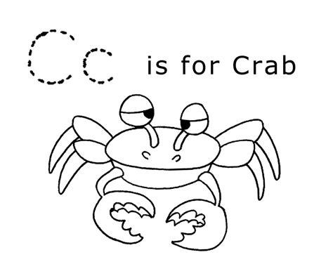 Letter C-crab