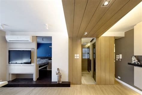Bedroom Interior Design Hong Kong by Modern Small Warm Apartment Contemporary Bedroom