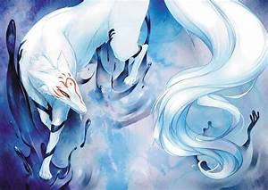Kitsune | Vampire diaries wiki, Anime and Watercolor